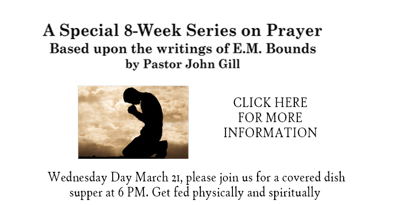 Special Series on Prayer