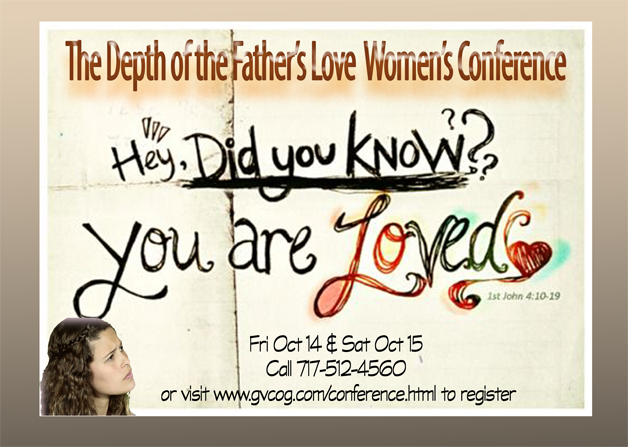 The Depth of the Father's Love Women's Conference